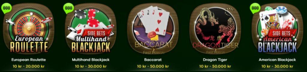 Casinospel 888
